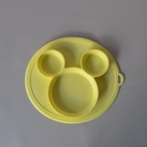CB004_Cubs_Collection_Silicone Mouse Plate Mellow
