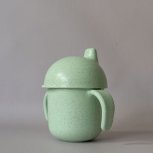 CB007_Cubs_Collection_Wheatstraw Sippy Cup Seafoam